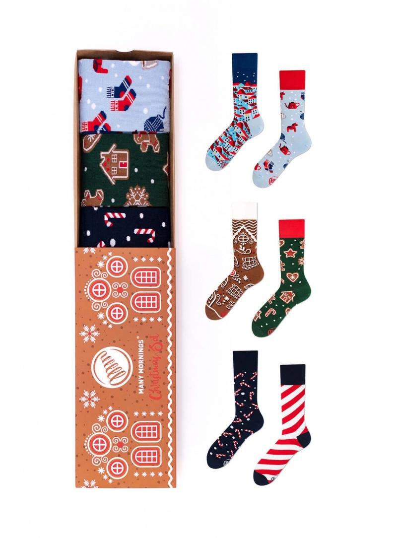 Zestaw Kolorowe Skarpetki MANY MORNINGS Christmas Set