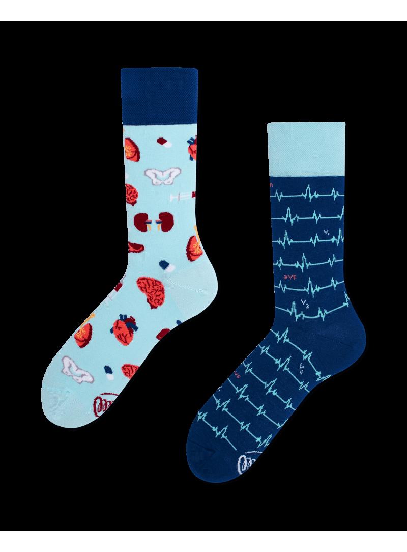 Kolorowe Skarpetki MANY MORNINGS Dr Sock