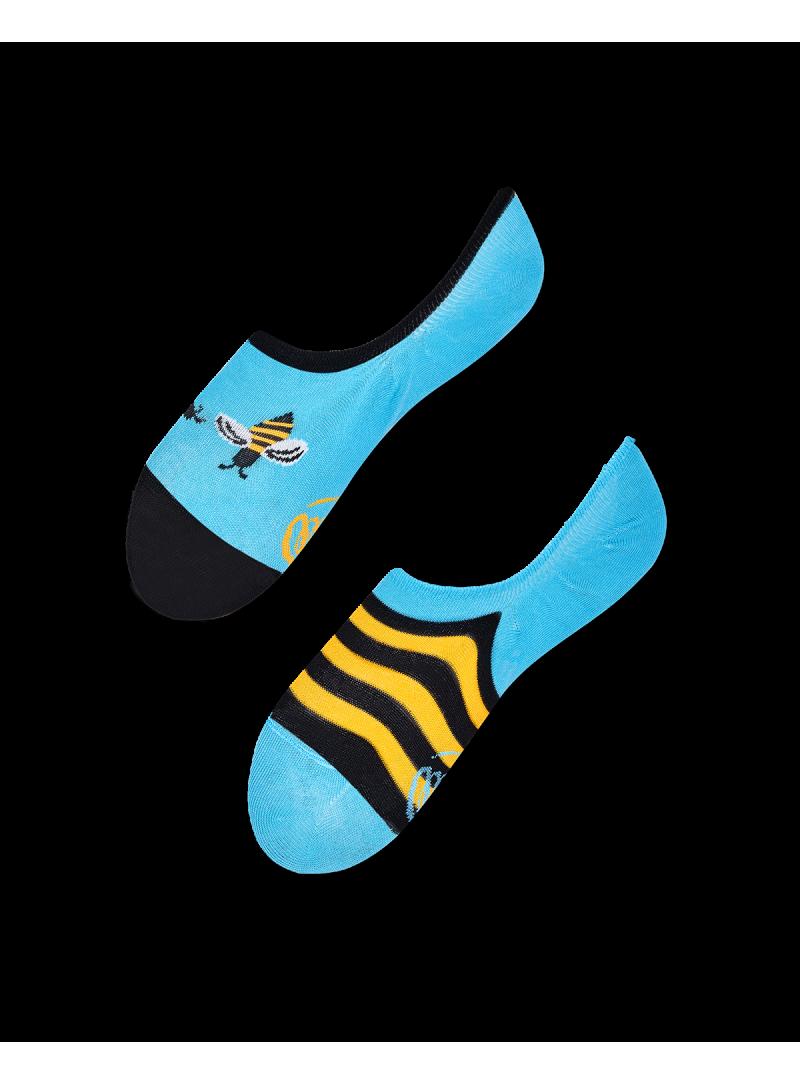 Kolorowe Micro Stopki Skarpetki MANY MORNINGS Bee Bee NoShow