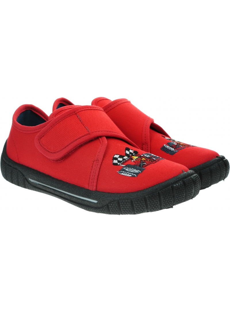 Czerwone Kapcie z Wyścigówką SUPERFIT Bill 0-800271-7000