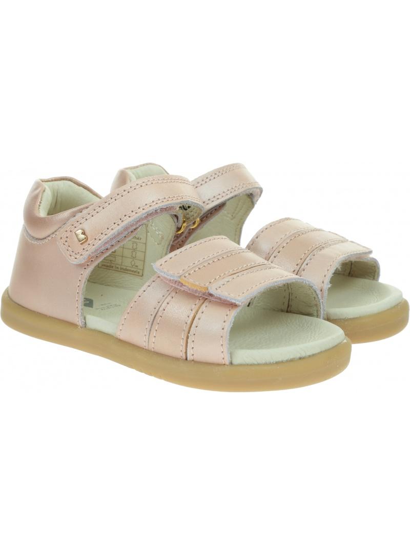 Różowe Sandały BOBUX Hampton Dusk Pearl + Rose Gold 630130