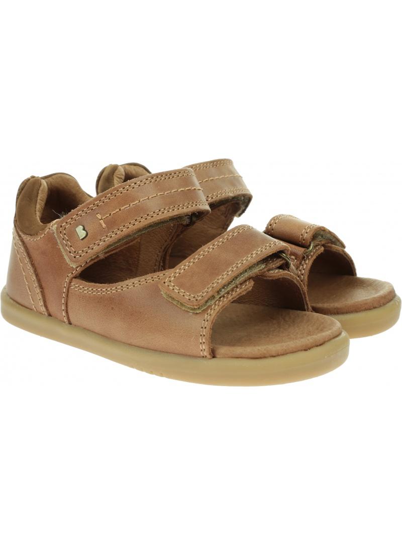 Brązowe Sandały BOBUX Driftwood Caramel 633606A