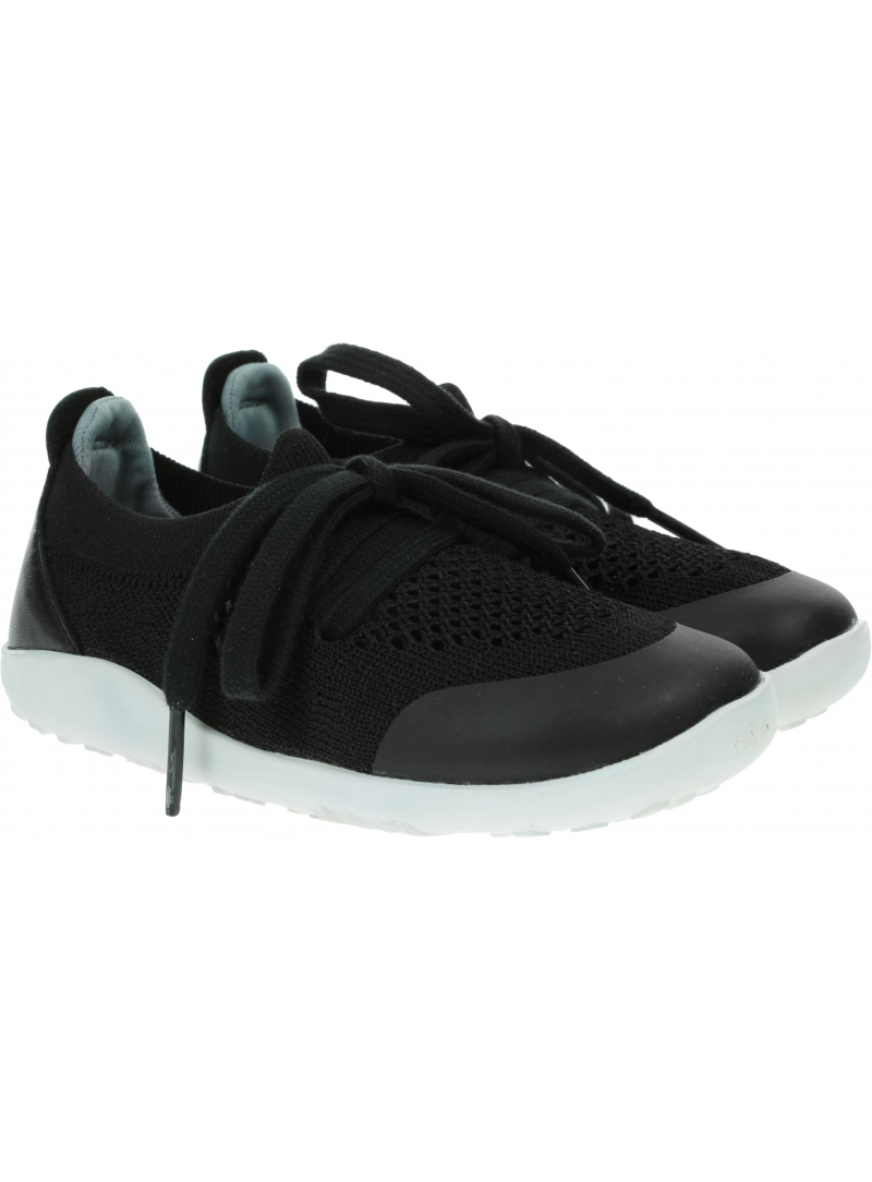 Ultralekkie Buty BOBUX Play Knit Black + Charcoal 636405