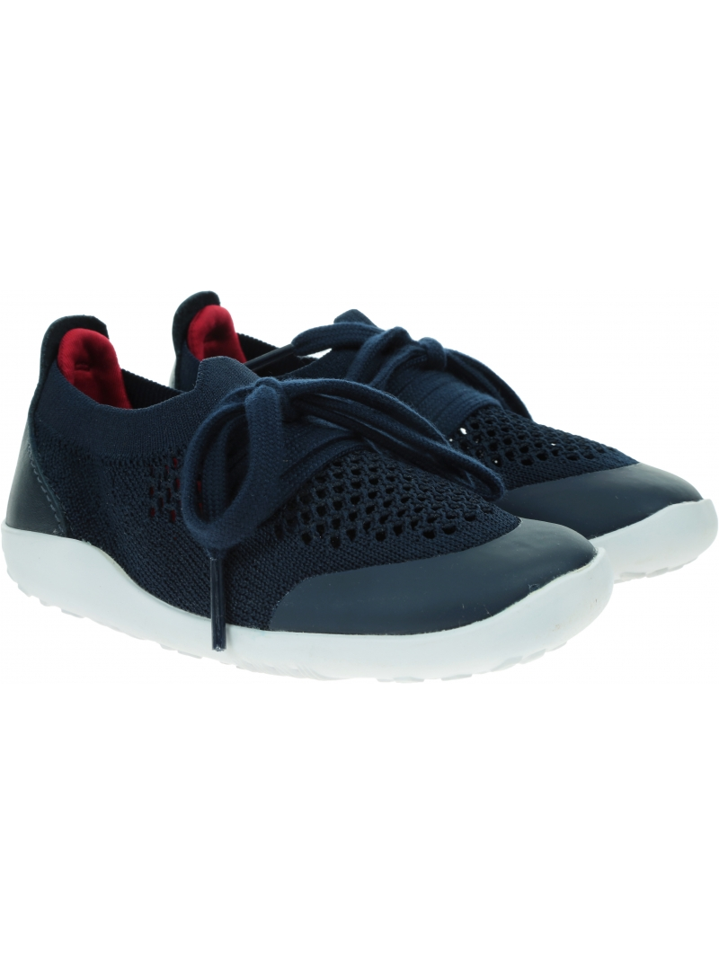Ultralekkie Buty BOBUX Play Knit Navy + Red 636409