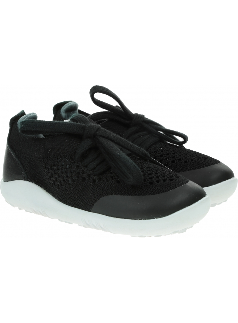 Ultralekkie Buty BOBUX Play Knit Black + Charcoal 732601