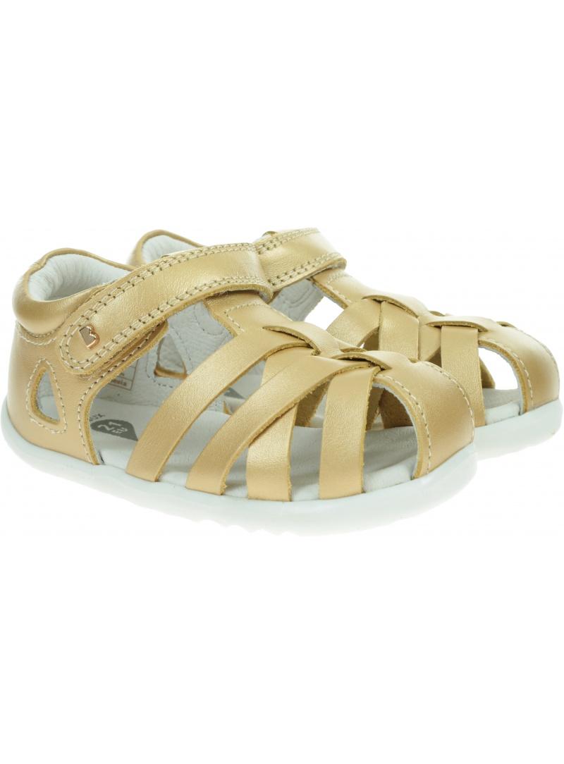 Złote Sandały BOBUX Tropicana II Gold 732303
