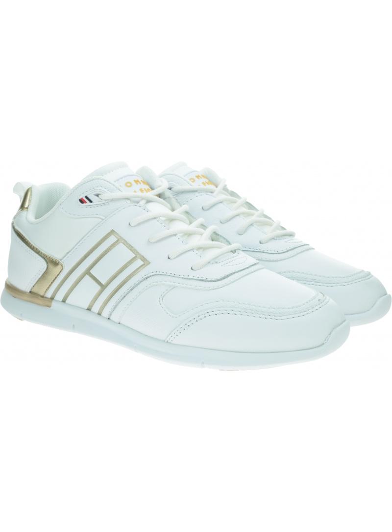 Sneakersy TOMMY HILFIGER Metallic Lightweight Sneaker FW0FW05693 Gold 0LJ