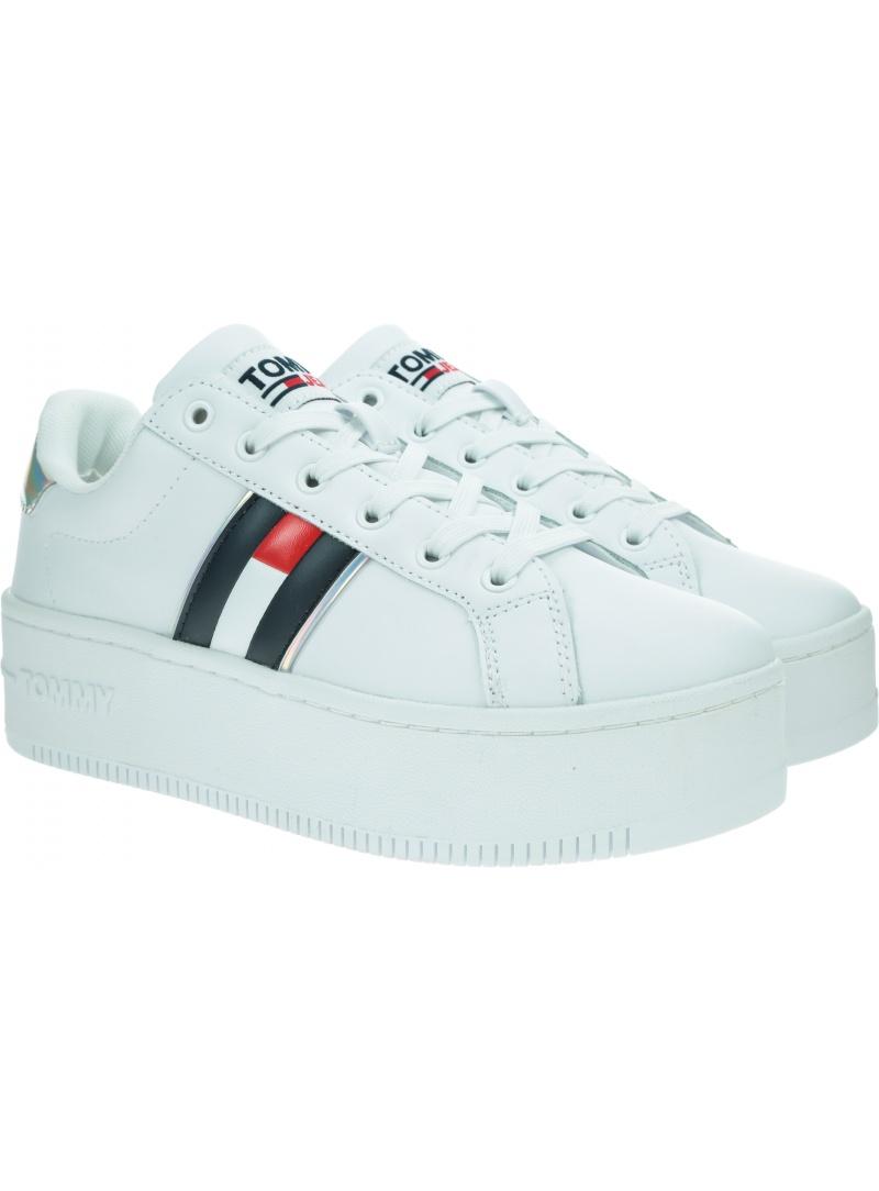 Sneakersy TOMMY JEANS Iridescent Iconic EN0EN01353 YBR