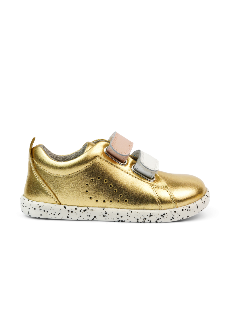 Złote Buty BOBUX Grass Court Switch Gold Metallic (White + Seashell) 637303