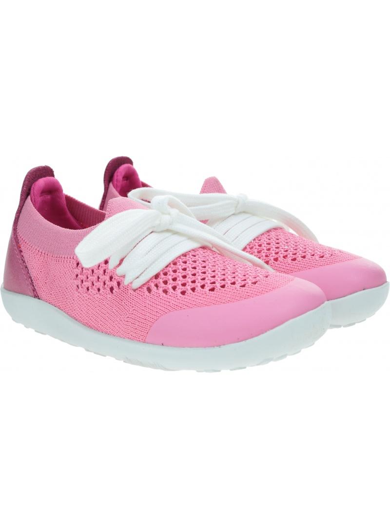 Ultralekkie Buty BOBUX Play Knit Pink + Raspberry 636410