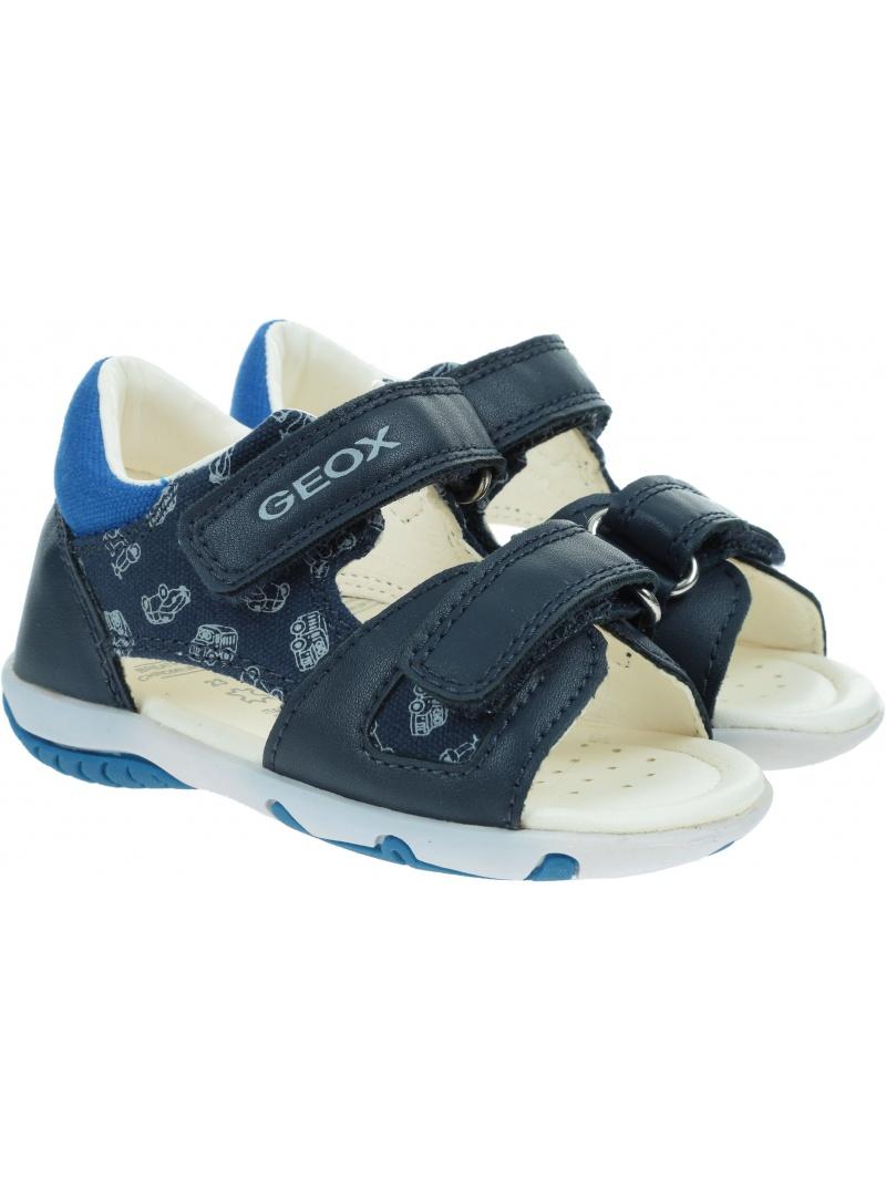 Granatowe Sandały GEOX B Sandal Elba Boy B02L8A 01054 4226