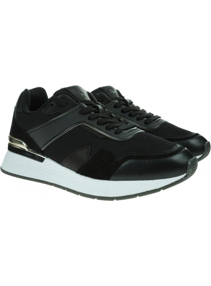 Czarne Sneakersy TAMARIS 1/1-23710/26 033