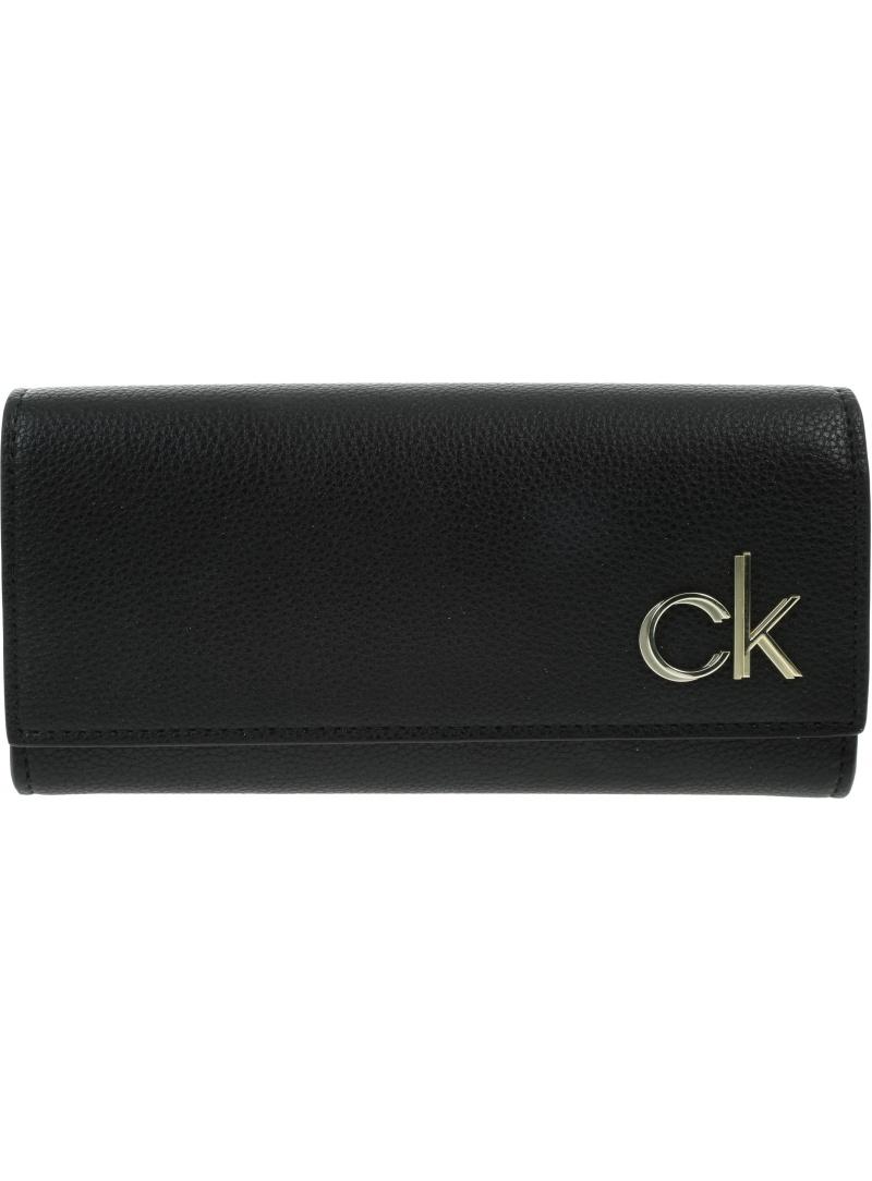 Duży Portfel Damski CALVIN KLEIN K60K608089 BAX