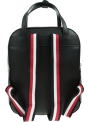 Czarny Plecak TOMMY HILFIGER Iconic Tommy Backpack AW0AW09661 BDS
