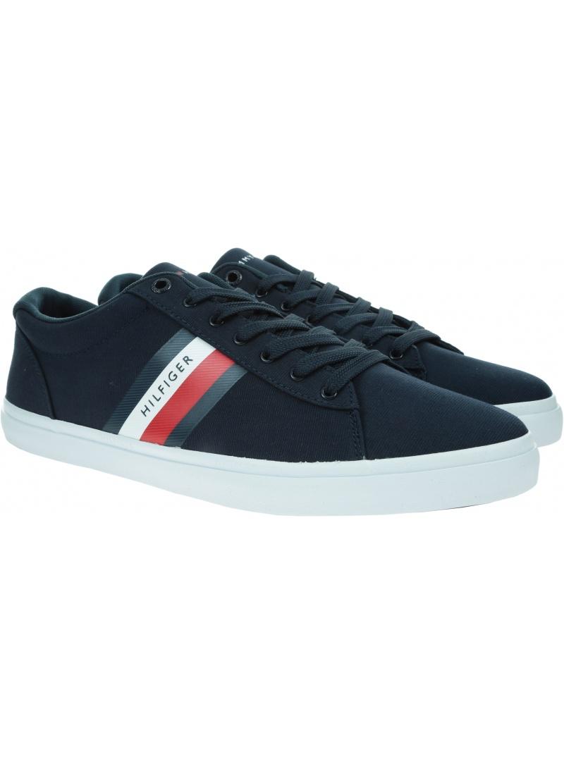 Sneakersy Męskie TOMMY HILFIGER Essential Stripe FM0FM03389 DW5