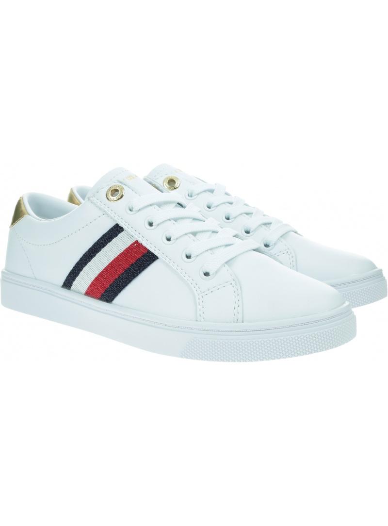 Sneakersy TOMMY HILFIGER TH Corporate Cupsole FW0FW05545 YBR
