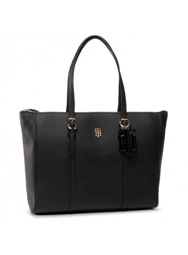 Torebka TOMMY HILFIGER TH Chic Tote AW0AW07986 BDS