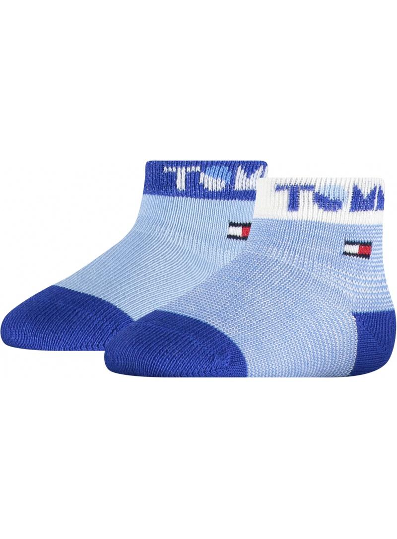 Niebieskie Skarpetki Dziecięce TOMMY HILFIGER 100002320 002 (2-Pak)