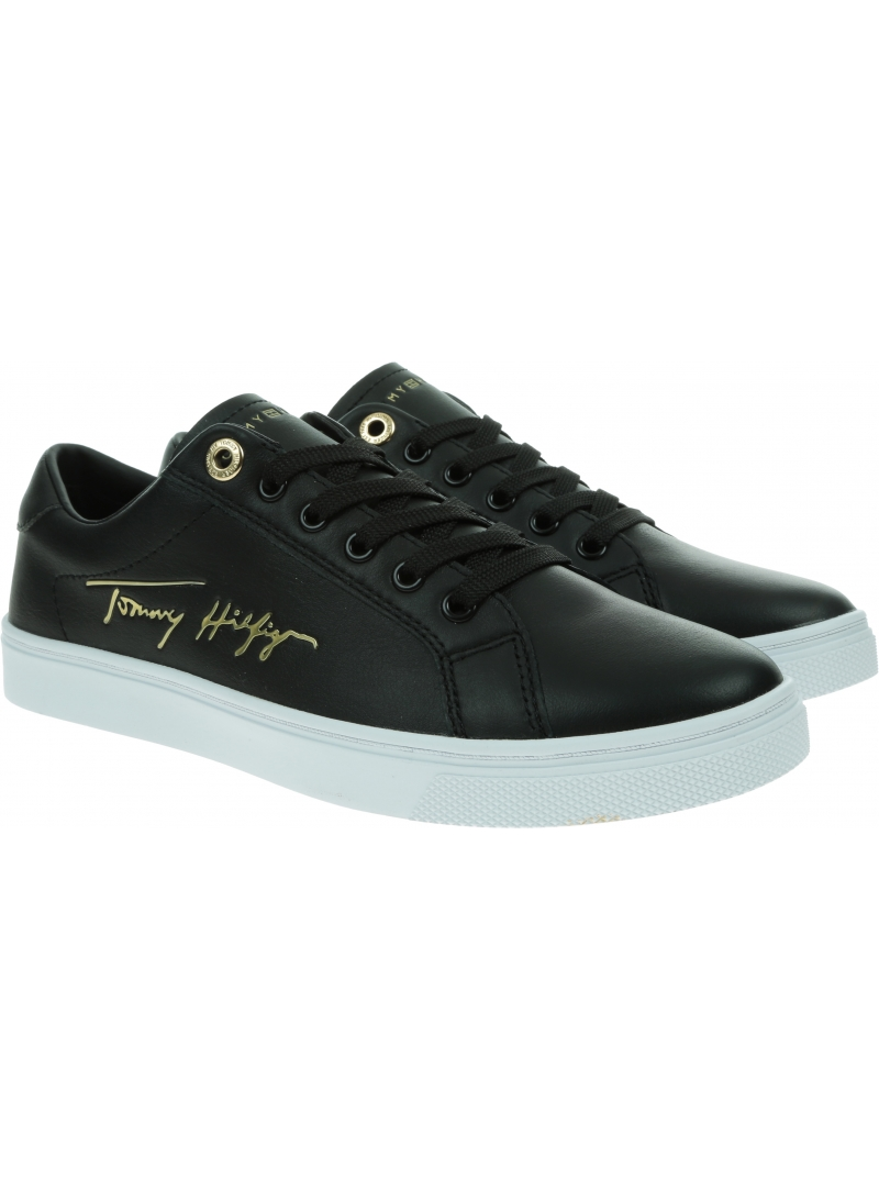 Sneakersy TOMMY HILFIGER TH Corporate Cupsole FW0FW05543 BDS