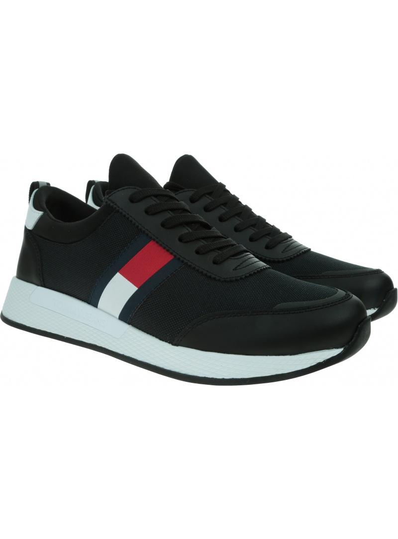 Sneakersy Męskie TOMMY JEANS Flexy Lycra Tommy EM0EM00632 BDS