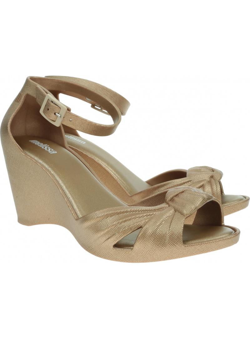 Sandały Koturny MELISSA Velvet Wedge 33295 52045