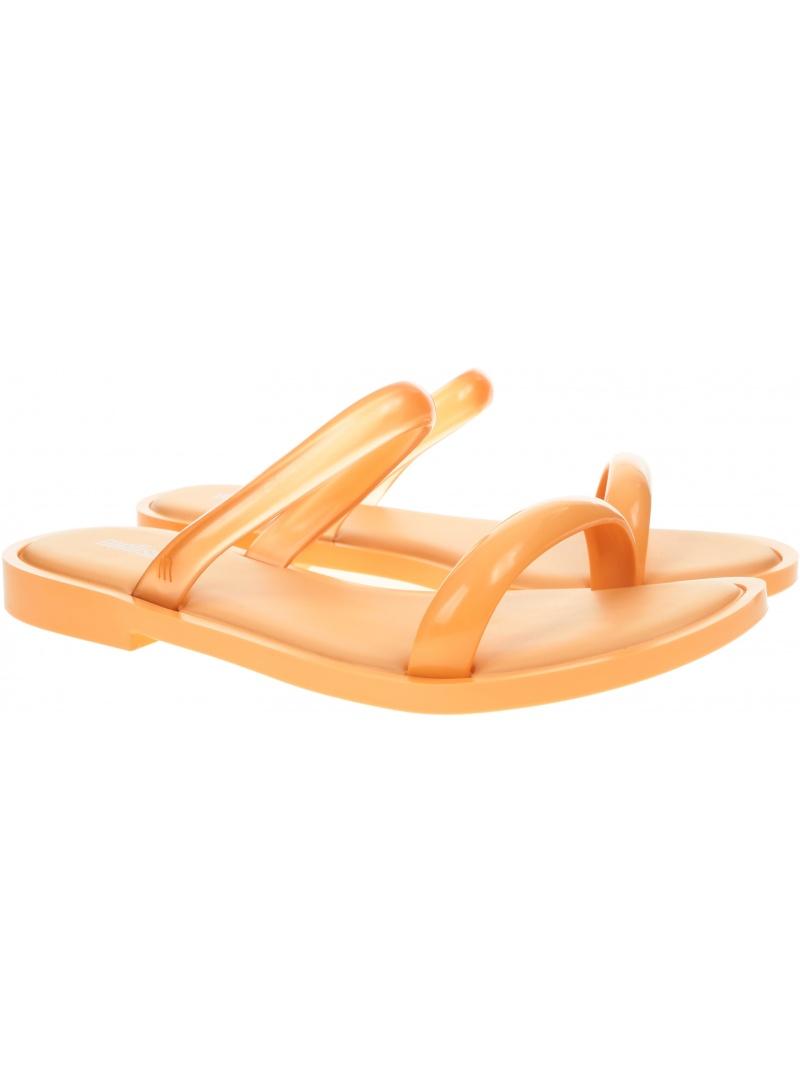 Pomarańczowe Klapki MELISSA Wave Ad 32952 53741