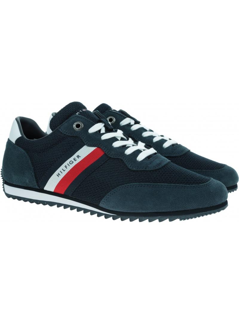 Sneakersy Męskie TOMMY HILFIGER Essential Mesh FM0FM03417 DW5
