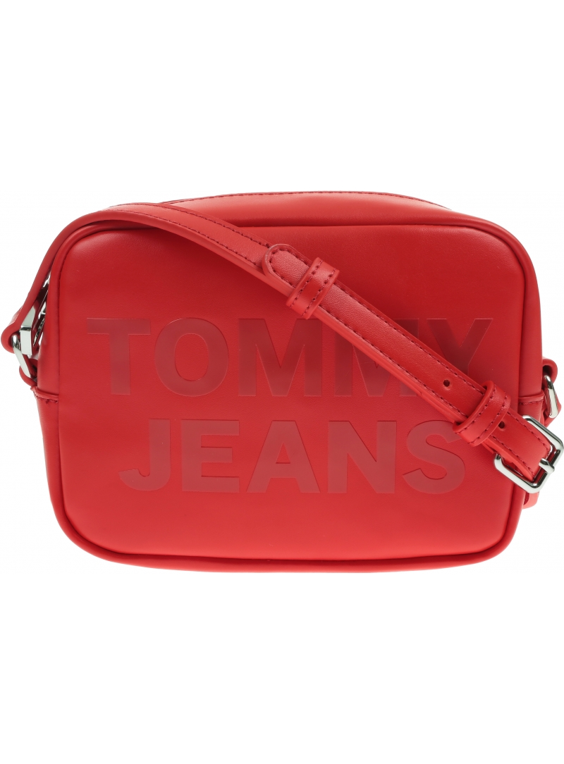 Czerwona Torebka TOMMY JEANS Camera Bag AW0AW09853 XNL