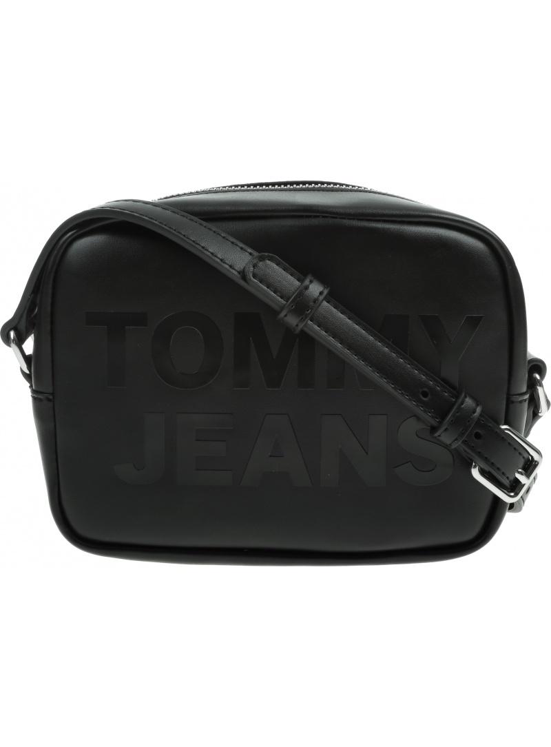 Czarna Torebka TOMMY JEANS Camera Bag AW0AW09853 BDS