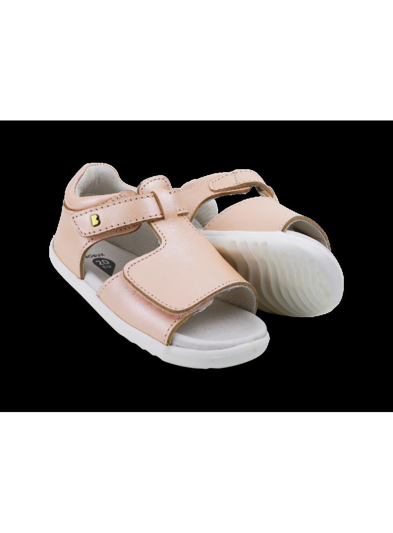 Różowe Sandały BOBUX Mirror Seashell Shimmer 727322c