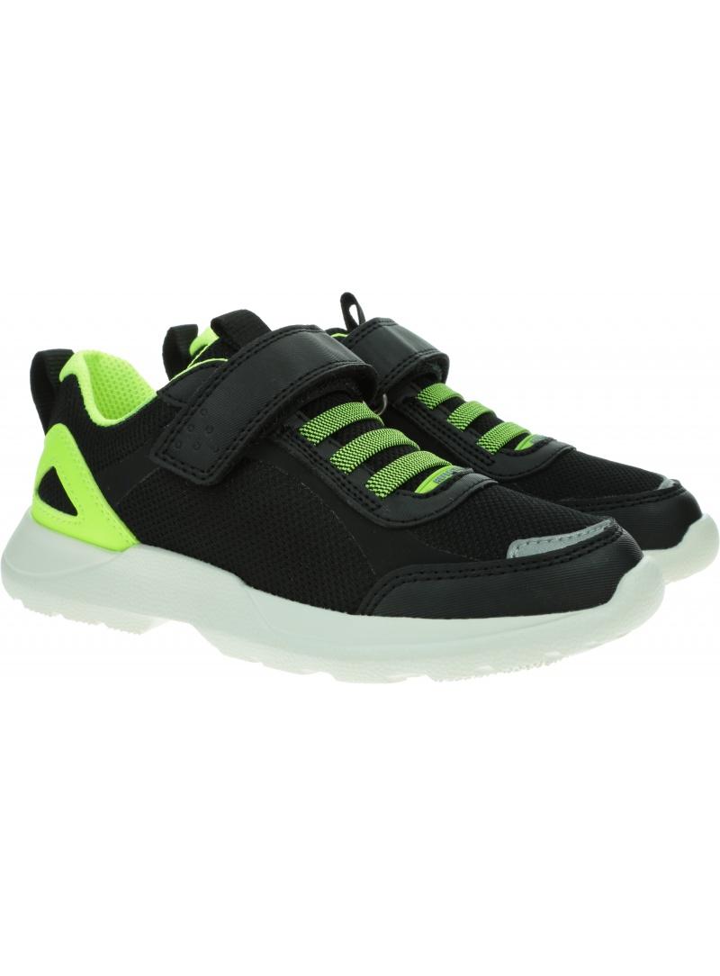 Czarne Sportowe Sneakersy SUPERFIT Rush 1-000211-0000
