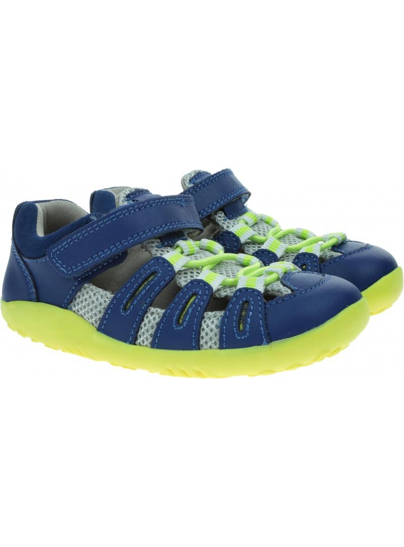 Ultralekkie Sandały BOBUX Summit Blueberry + Neon 837602