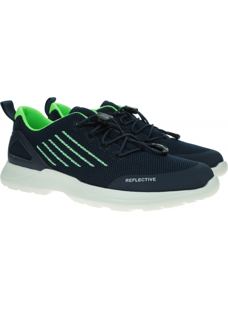 Granatowe Sneakersy SUPERFIT Rush 0-606213-8000