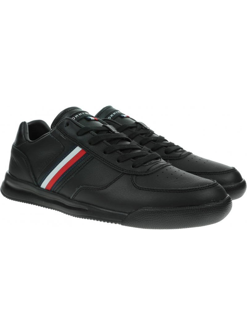Ultralekkie Półbuty TOMMY HILFIGER Lightweight Leather Sneaker FM0FM03471