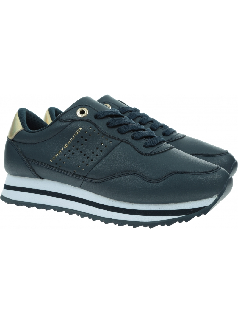 Sneakersy TOMMY HILFIGER Lifestyle Runner Sneakers FW0FW05557 DW5