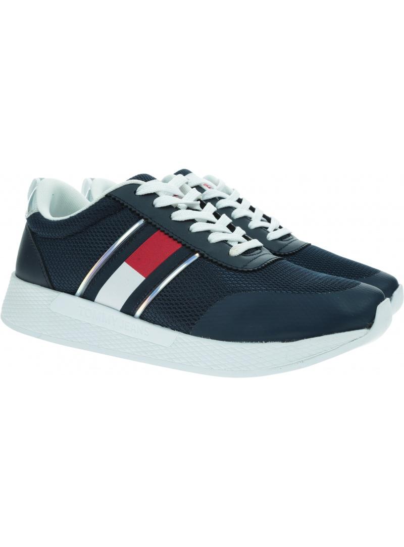 Sneakersy Damskie TOMMY JEANS Technical Flexi Runner EN0EN01359 C87