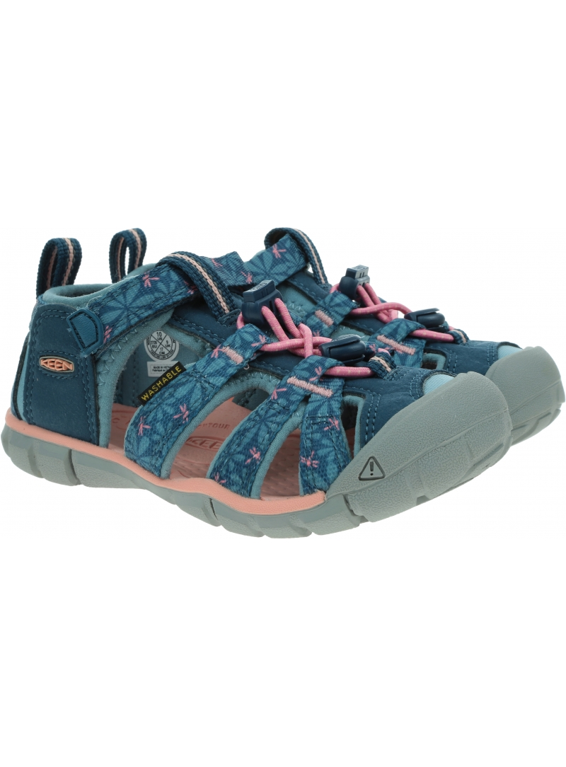 Sportowe Sandały KEEN Seacamp II Cnx Real Teal /Stone Blue 1025153