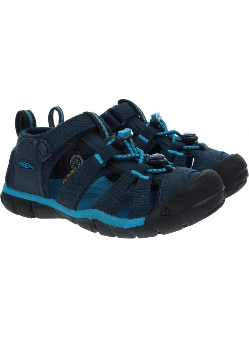 Sportowe Sandały KEEN Seacamp II Cnx Black Iris/Vivid Blue 1025129