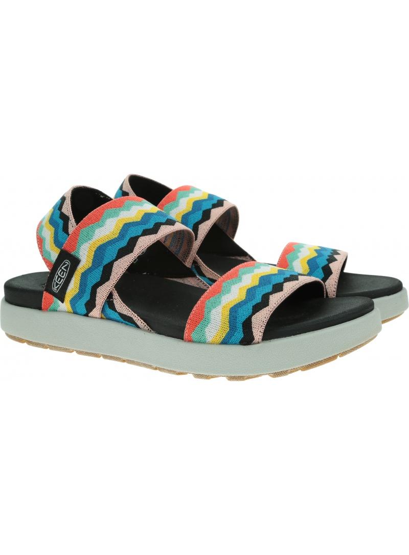 Sportowe Sandały KEEN Elle Backstrap Black/Peach Pearl 1024713