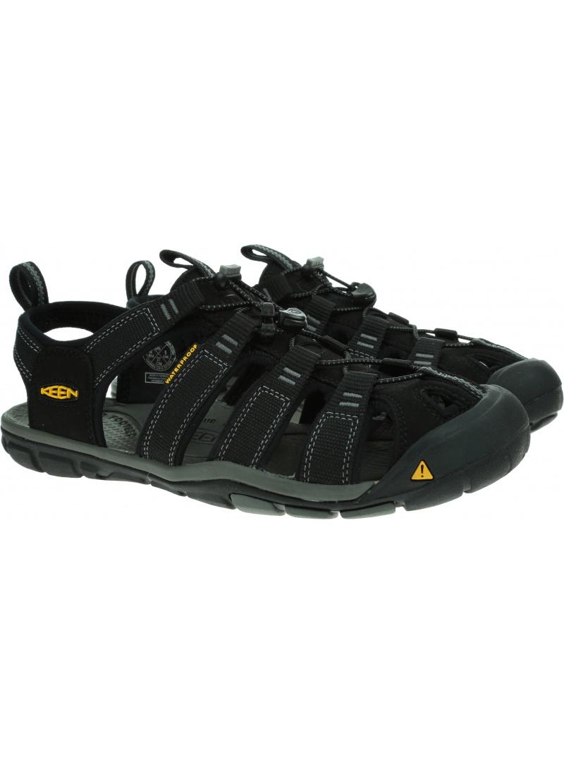 Sportowe Sandały KEEN Clearwater CNX Black/Gargoyle 1008660