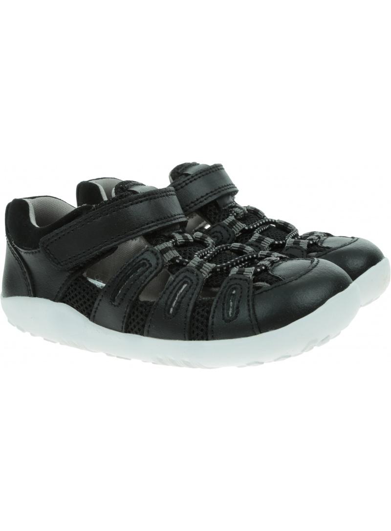 Ultralekkie Sandały BOBUX Summit Black + Charcoal 731601