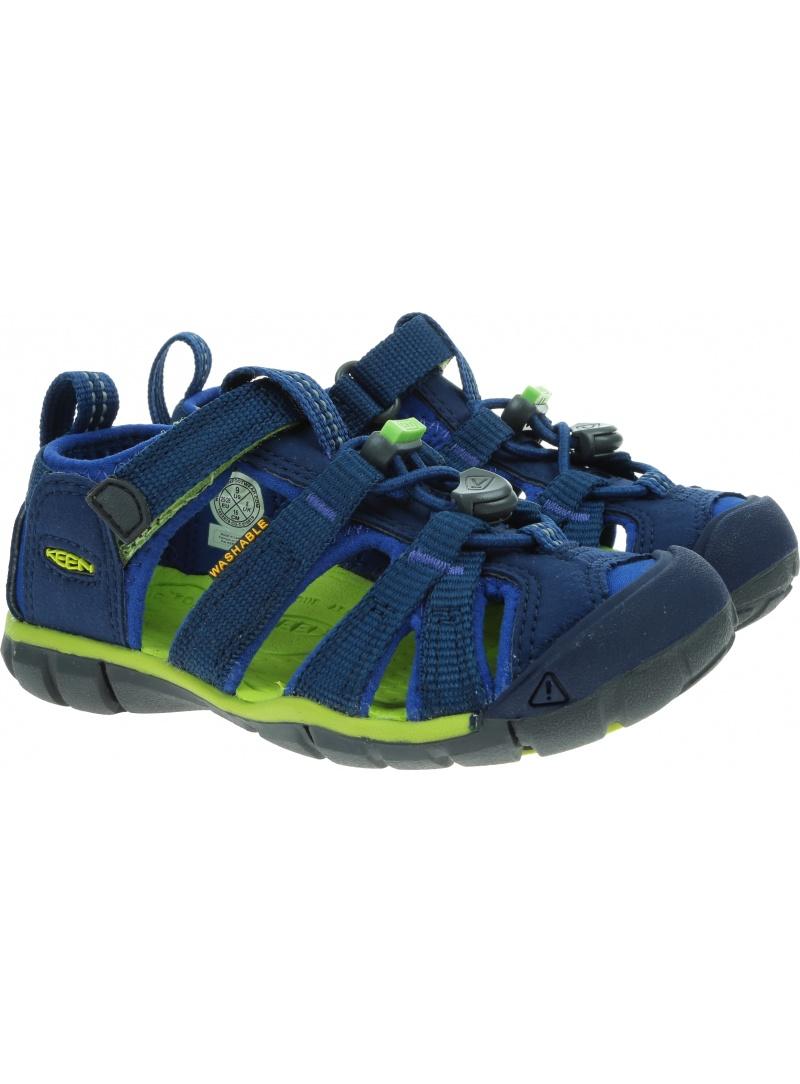 Sportowe Sandały KEEN Seacamp II Cnx Blue Depths/Chartreuse 1022978