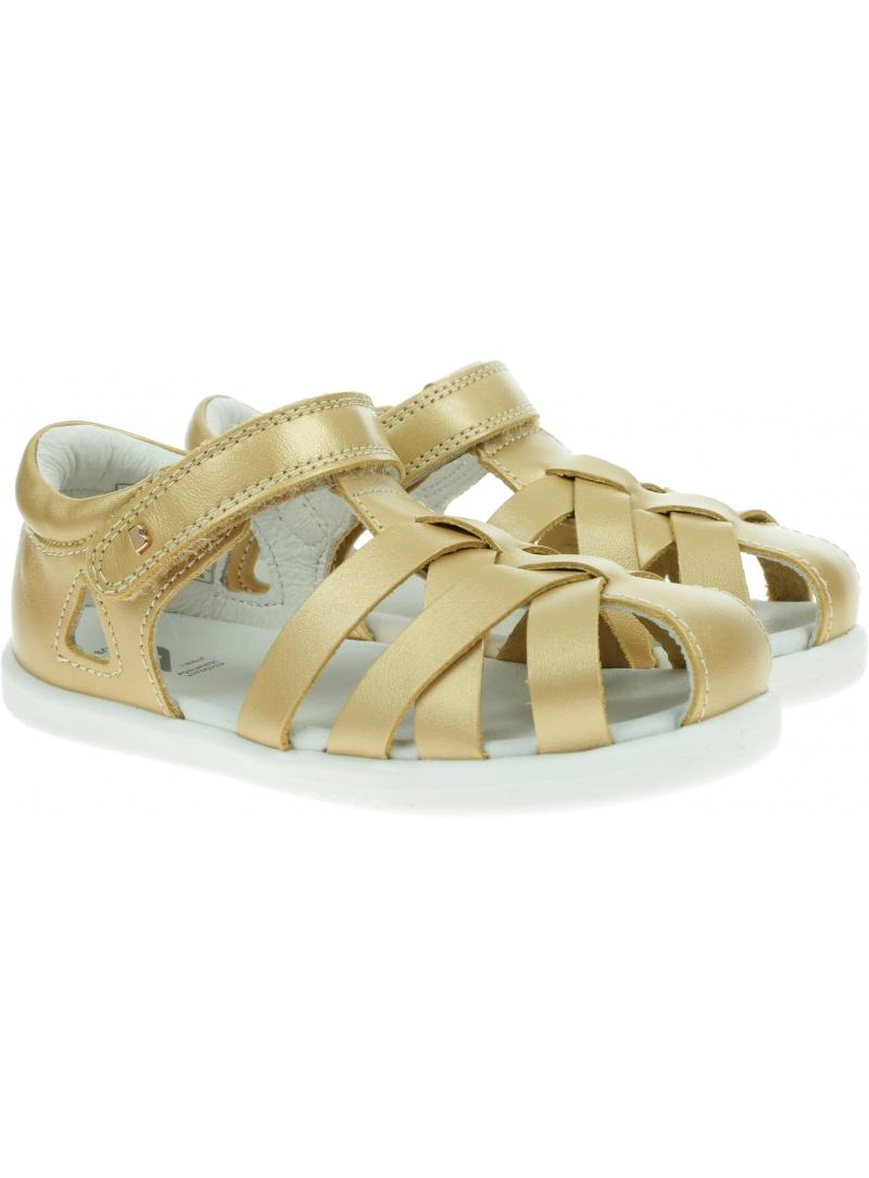 Złote Sandały BOBUX Tropicana II Gold 638303