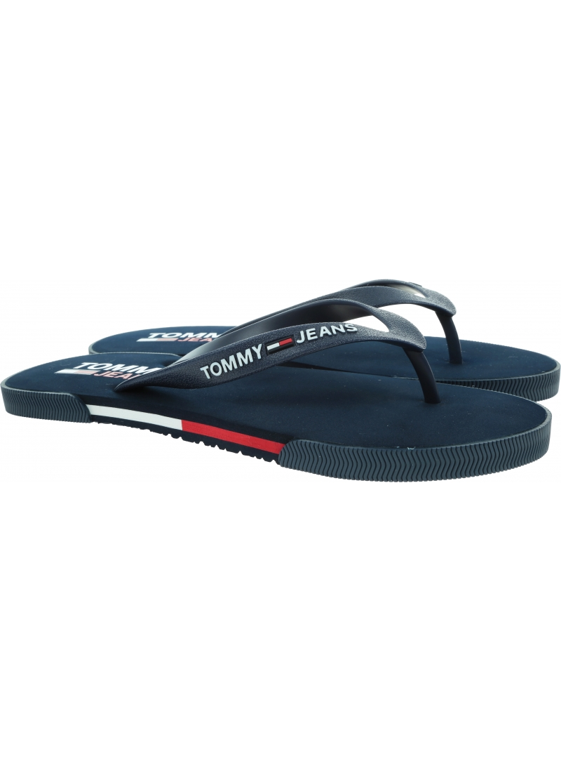 Japonki Męskie TOMMY JEANS Men Beach Sandal EM0EM00731 C87