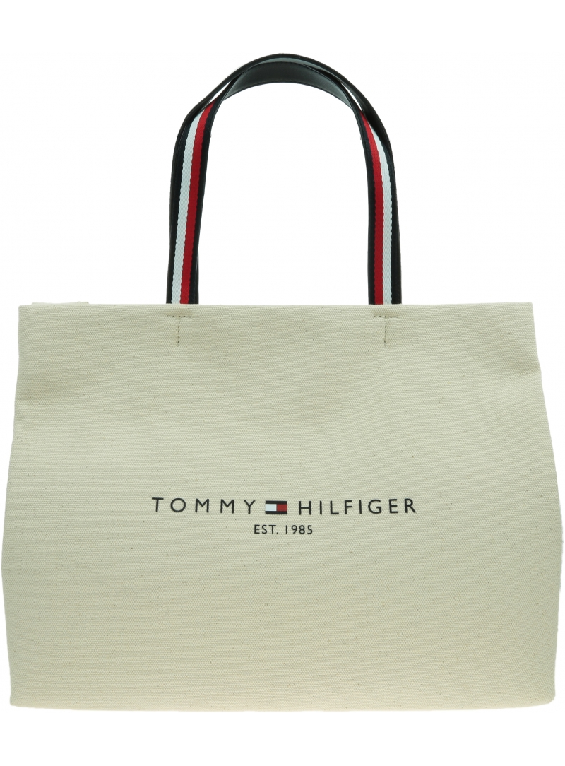 Torebka TOMMY HILFIGER Iconic Tommy Tote AW0AW09708 ACK