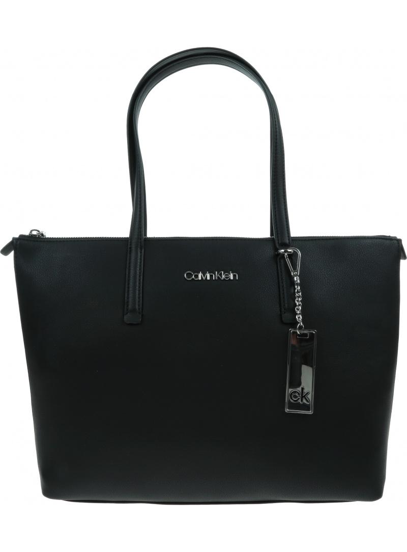 Czarna Torba CALVIN KLEIN Ck Must Shopper K60K608283 BAX