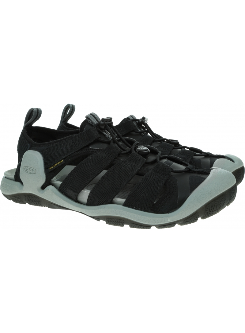 Sportowe Sandały KEEN Clearwater II CNX Black/Keen Yellow 1024968
