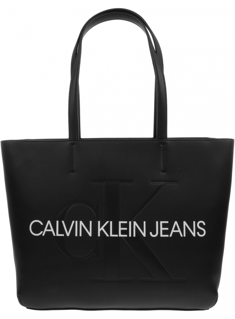 Torebka CALVIN KLEIN Shopper K60K607200 BDS