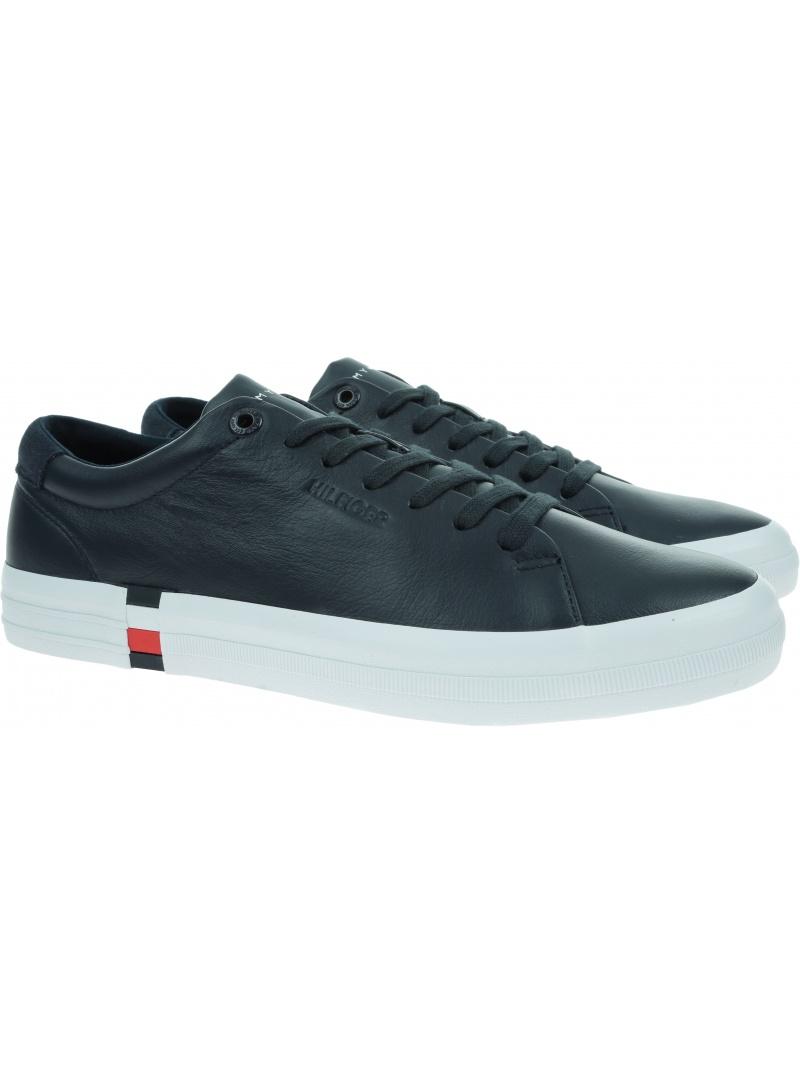 Sneakersy Męskie TOMMY HILFIGER Premium Corporate FM0FM03621 DW5