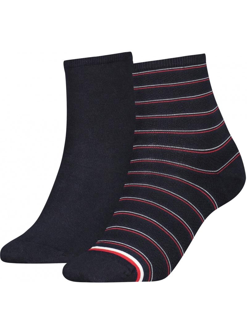 Skarpetki Damskie 100002817 004 TOMMY HILFIGER Women Short Sock (2-pak)
